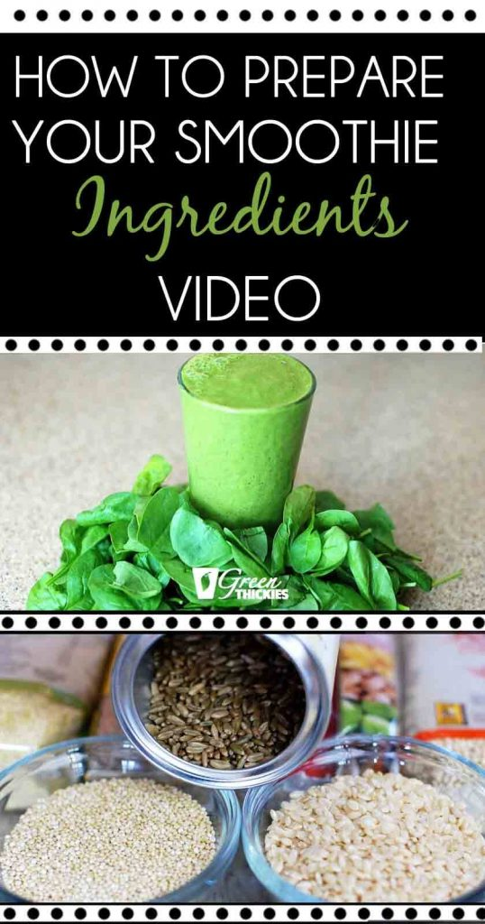 Day 3 Lean Green Smoothie Challenge How To Prepare Your Smoothie Ingredients