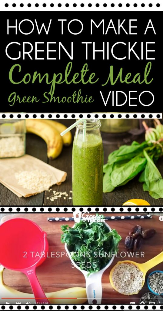 Day 1 Lean Green Smoothie Challenge How to make a green thickie complete meal green smoothie