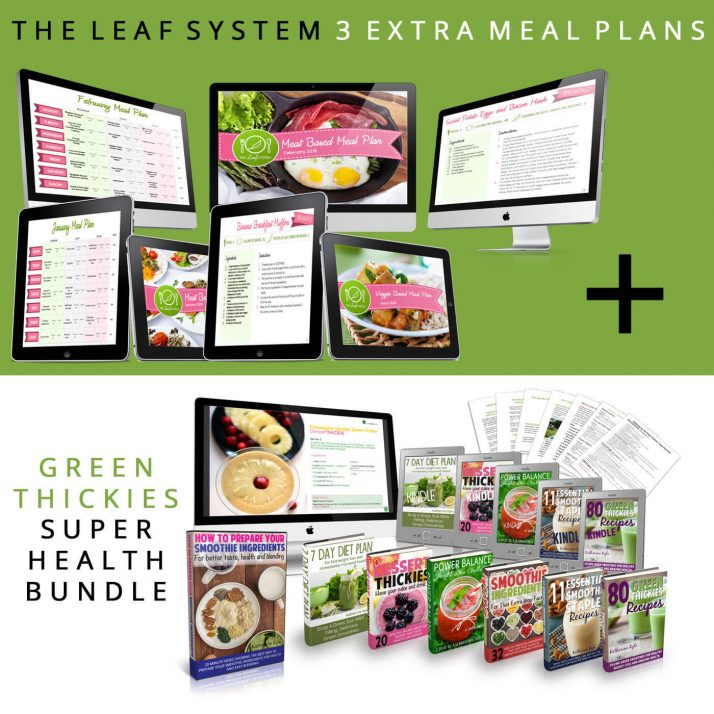 3 LEAF SYSTEM MEAL PLANS AND SUPER HEALTH BUNDLE
