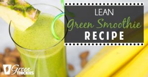 Lean Green Smoothie Recipe