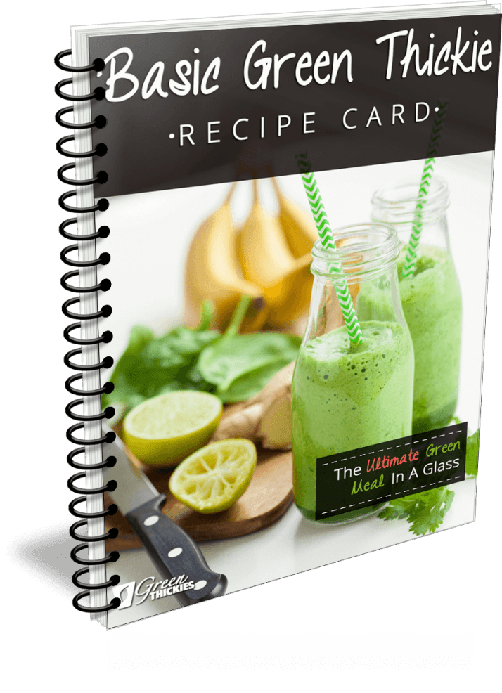 How To Lose Water Weight - 14 Ways To Reduce The Bloat  Basic Green Thickie Recipe Card