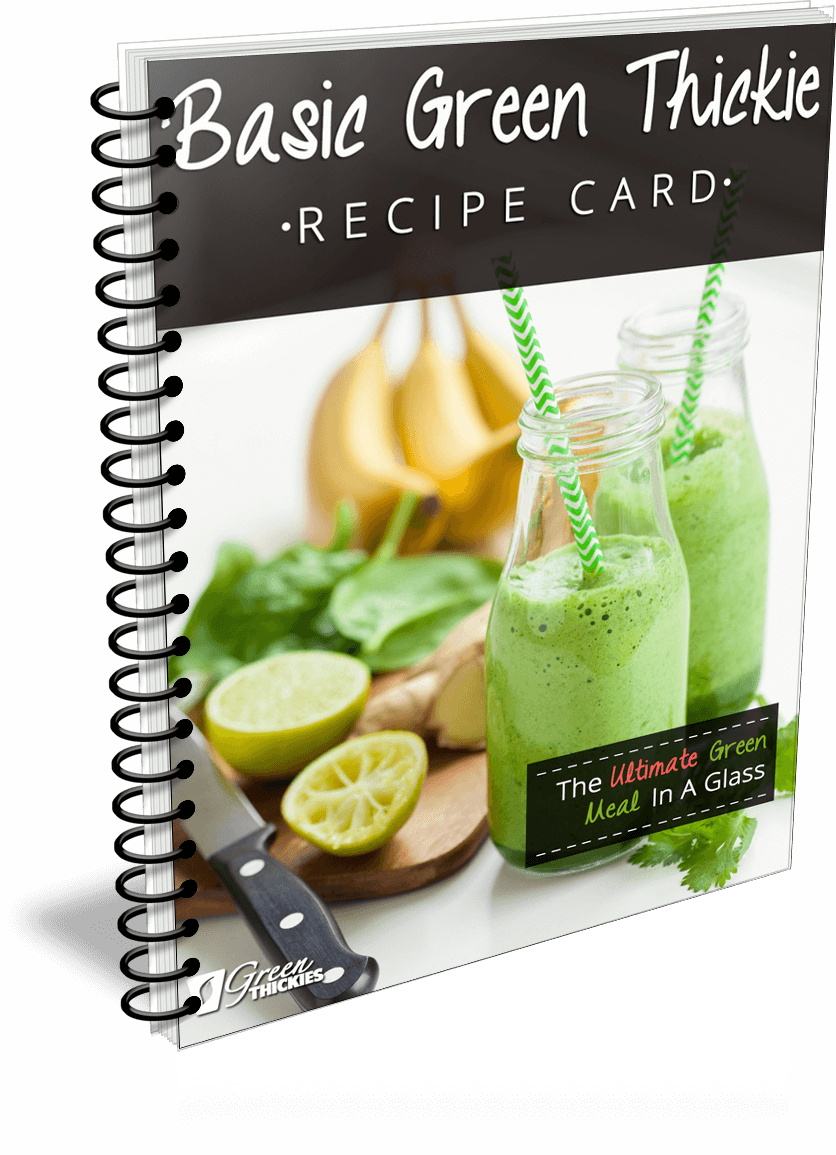 23 BEST Green Smoothie Recipes For Detox & Beauty Basic Green Thickie Recipe Card