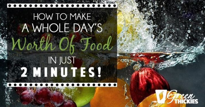 How To Make A Whole Day's Worth Of Food In JUST 2 MINUTES!