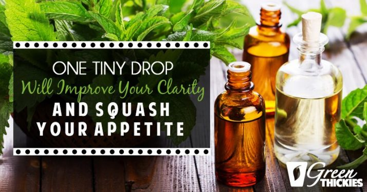 One Tiny Drop Will Improve Your Clarity AND Squash Your Appetite