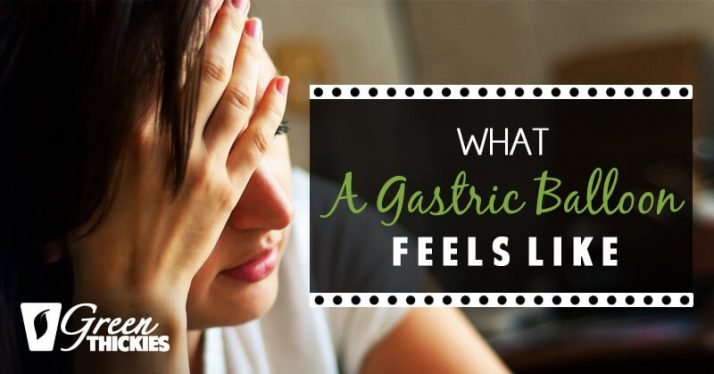 What a gastric balloon feels like