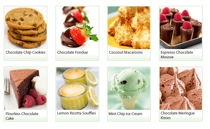 25 guilt free desserts