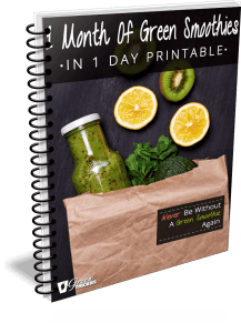 1 Month Of Green Smoothies In 1 Day Printable