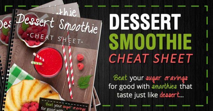 Dessert Smoothie Cheat Sheet update