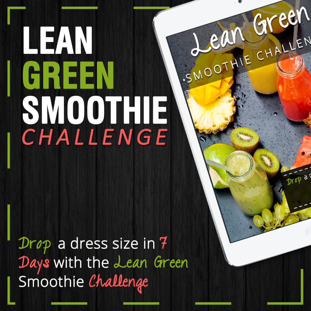 Lean Green Smoothie Challenge (Square Post) 2