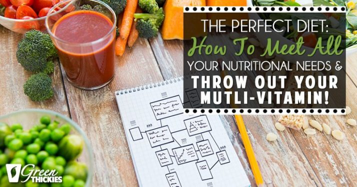 The Perfect Diet How to meet all your nutritional needs and throw out your multi-vitamin