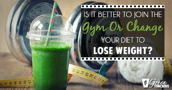 What's better for weight loss joining a gym or clean eating