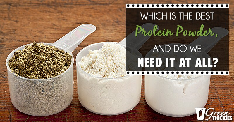 Which Is The Best Protein Powder, And Do We Need It At All?