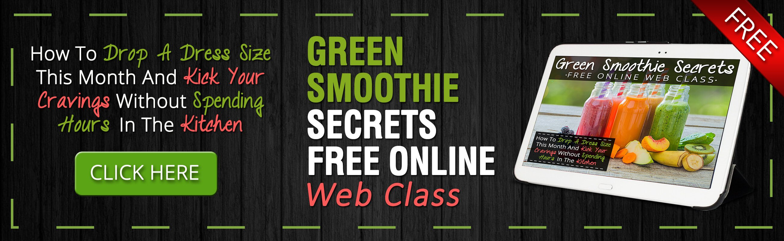 Join The Green Smoothie Secrets Webinar