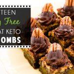 18 Dairy Free High Fat Keto Fat Bombs (Blog Post)