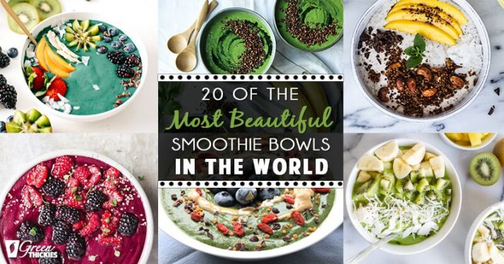 20 Of The Most Beautiful Smoothie Bowls In The World (Blog Post)
