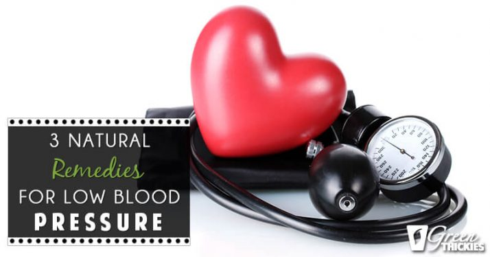 3 Natural Remedies For Low Blood Pressure (Blog Post)