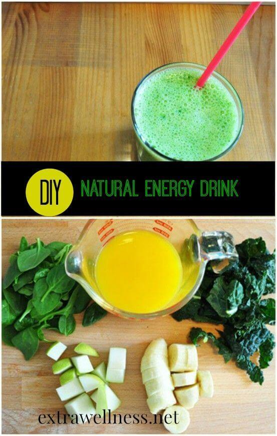 DIY Natural Energy Drink