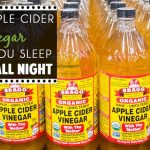 How Drinking Apple Cider Vinegar Helps You Sleep Deeply All Night (Blog Post)