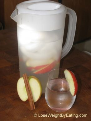THE ORIGINAL DAY SPA APPLE CINNAMON INFUSED WATER