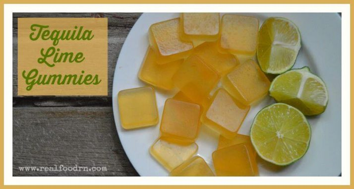 Tequila Lime Gummies