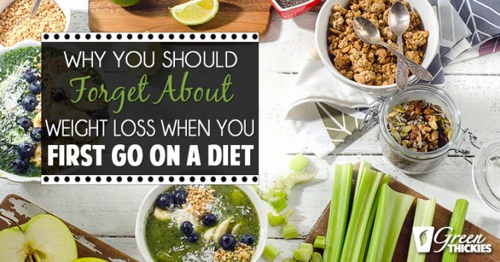 Why you should forget about weight loss when you first go on a new diet 1