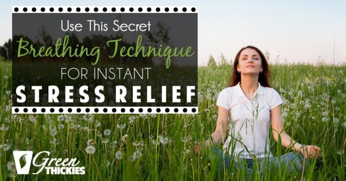 Use This Secret Breathing Technique For Instant Stress Relief