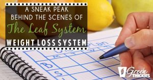 A Sneak Peak Behind The Scenes Of The Leaf System Weight Loss System