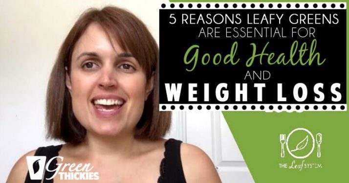 5 Reasons Leafy Greens Are ESSENTIAL For Good Health And Weight Loss