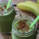 Banana Peanut Butter Green Thickie Recipe