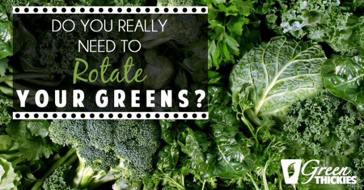 Do You Really Need To Rotate Your Greens?