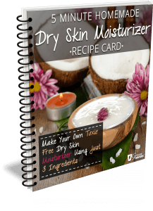 5 Minute Homemade Dry Skin Moisturizer Recipe Card