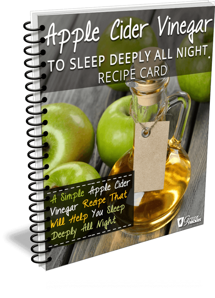 Apple Cider Vinegar To Sleep Deeply All Night Recipe Card