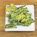 Cheesy Kale Chips Recipe (Oven or Dehydrator)