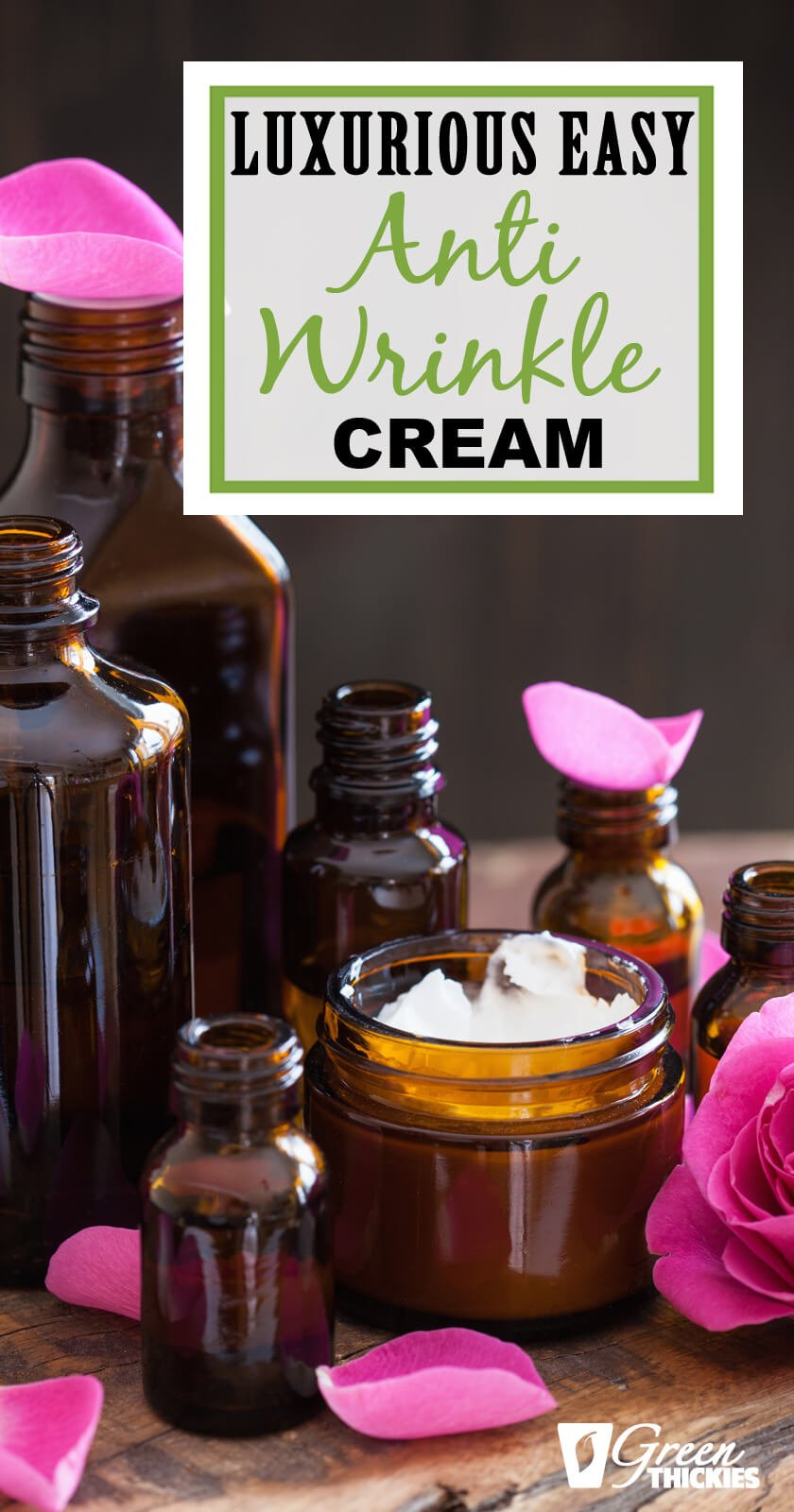 This homemade anti-wrinkle cream is better than any store bought cream you can findClick the pin to see the before and after photos!To make your own DIY cream using only a few natural products...Cocoa butter, coconut oil, sweet almond oil & the special ingredient Young Living Frankincense essential oil!Look younger with your own homemade beauty products!#greenthickies #antiwrinklecream #preventwrinklescream #diyantiwrinkle #diyantiaging #cocoabutter #coconutoil #almondoil...