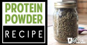 2 Ingredient Homemade Protein Powder Recipe