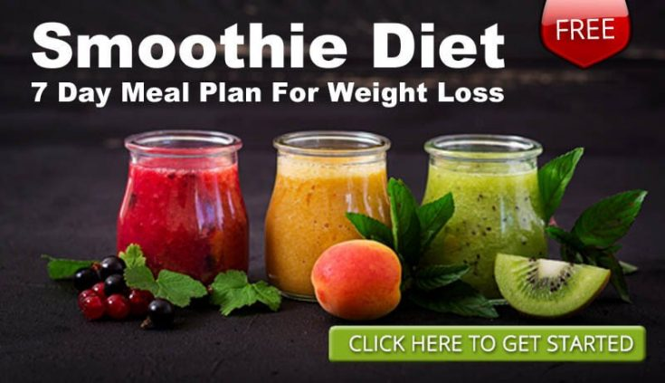 FREE 7 Day Smoothie Diet Plan For Weight Loss: Healthy Smoothie Recipes