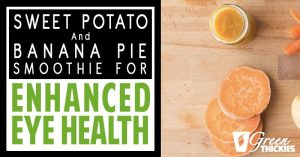 Sweet Potato and Banana Pie Smoothie