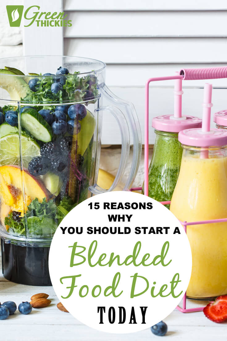 I was recently asked why I would bother blending up my water, berries, greens, fillers, nuts and seeds into a Green Thickie (filling green smoothie) rather than just enjoying eating the foods on their own.There are a number of reasons I blend up my food into smoothies and eat a mainly blended food diet.Find out 15 reasons why you should start a blended food diet today by clicking the link.#greenthickies #smoothies #greensmoothies #diet #blendeddiet #blendfood #smoothiediet #hea...