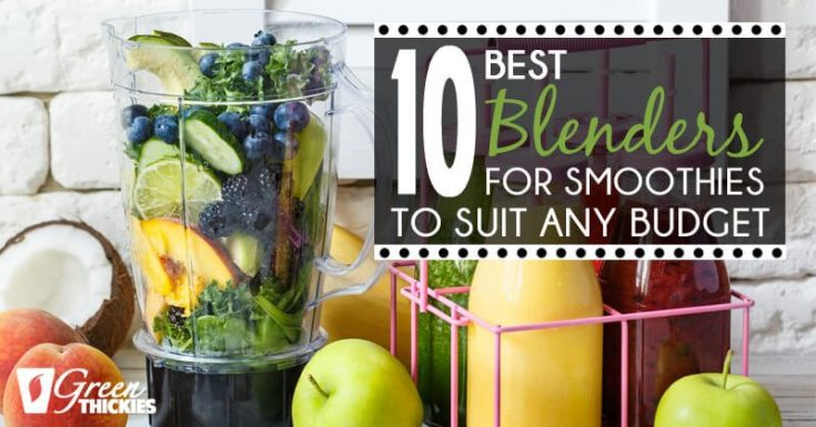 10 Best Blenders For Smoothies To Suit Your Budget