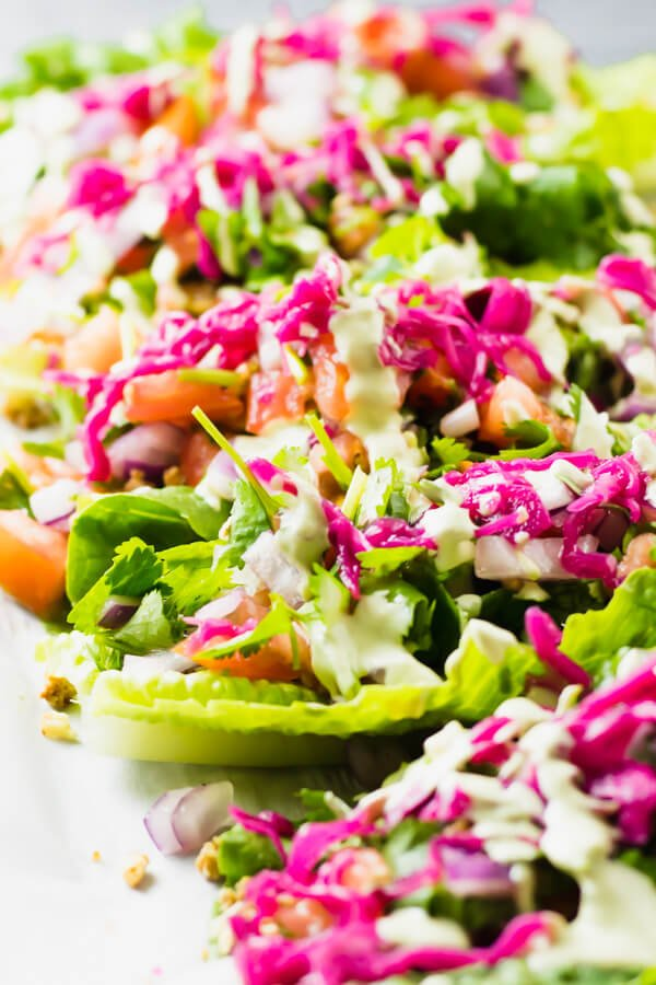 37 Healthy Valentine's Day Recipes: Indulge Without The Bulge raw vegan tacos with sun-dried tomato walnut meat