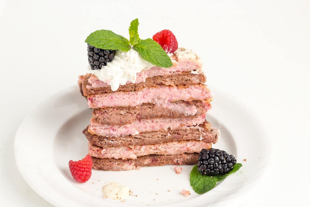 37 Healthy Valentine's Day Recipes: Indulge Without The Bulge Chocolate beet valentine's day pancakes