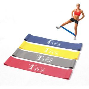 How To Lose 10 Pounds In 1 Week: 3 Step Plan; Resistance Exercise Band For Bodybuilding & Yoga, Set of 4