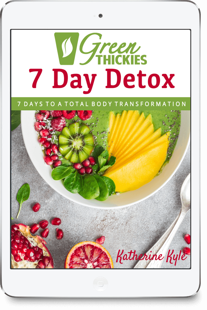23 BEST Green Smoothie Recipes For Detox & Beauty Green Thickies 7 Day Detox