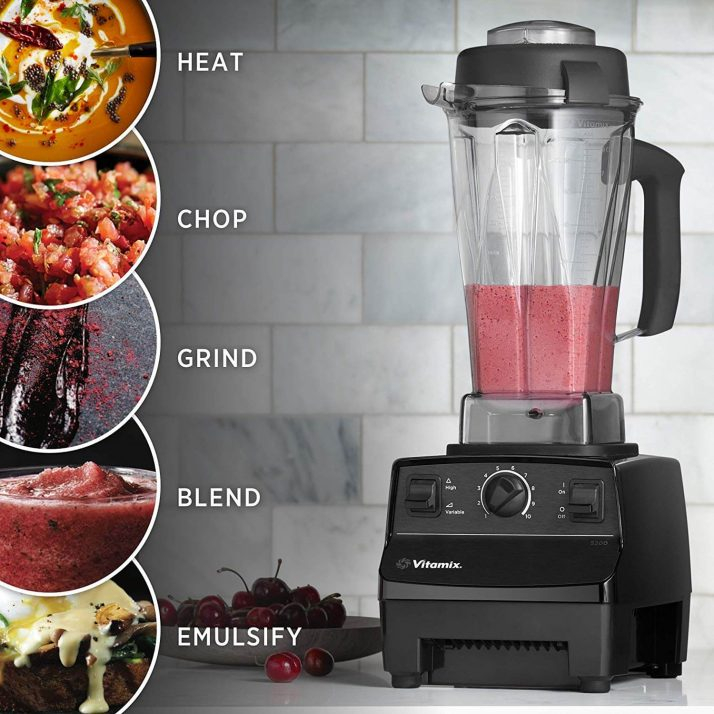 The Ultimate Smoothie Blender Guide; Vitamix 5200 Blender, Professional-Grade, 64 oz. Container, Black