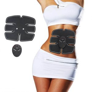 How To Lose 10 Pounds In 1 Week: 3 Step Plan; Electric Abs Muscle Stimulator Body Trainer Toning Belt