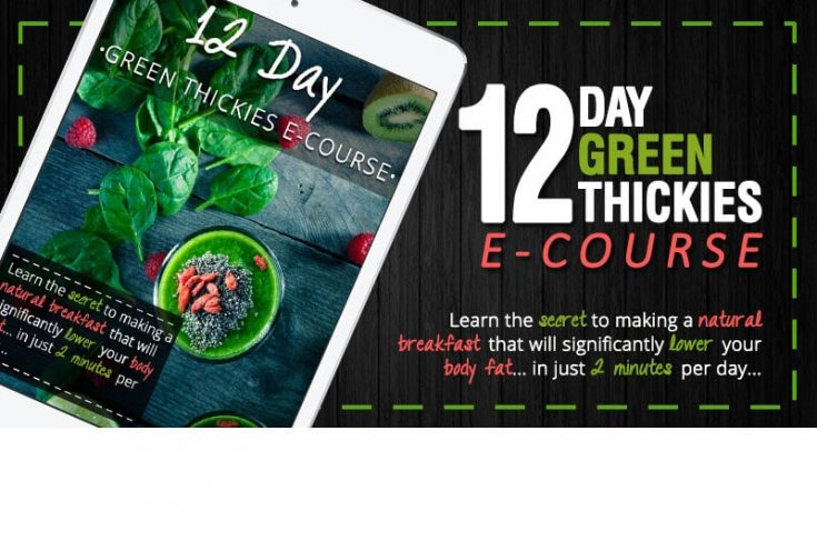 12 Day Green Smoothie E-course