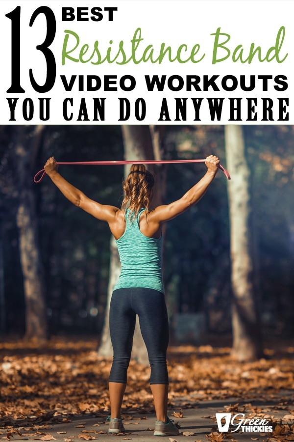 Here are 13 of the best resistance band workouts that you can do anywhere.All of these workouts are videos, so save this page and you can come back every day to select a different video to use with your resistance bands.Click the link to get the workouts...#greenthickies #resistancebands #exercisebands #resistancebandworkouts #fitnessworkout #workoutvideos