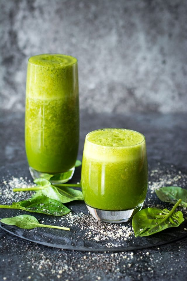 33 HEALTHY Green Drinks For St Patrick's Day Immune Boosting Green Smoothie