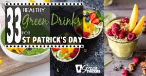33 HEALTHY Green Drinks For St Patrick's Day