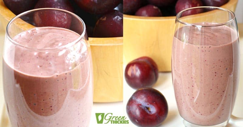 11 Warm Smoothies For Winter: Cold-Weather Breakfasts Spicy Plum Smoothie